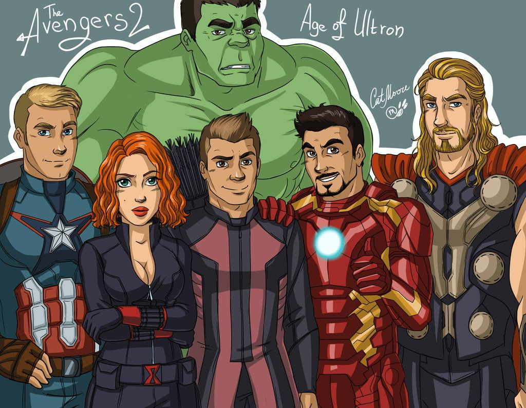 Avengers Age Of Ultron By Iloegbunam On Deviantart: The Avengers: Age Of Ultron By CatMoore.deviantart.com On