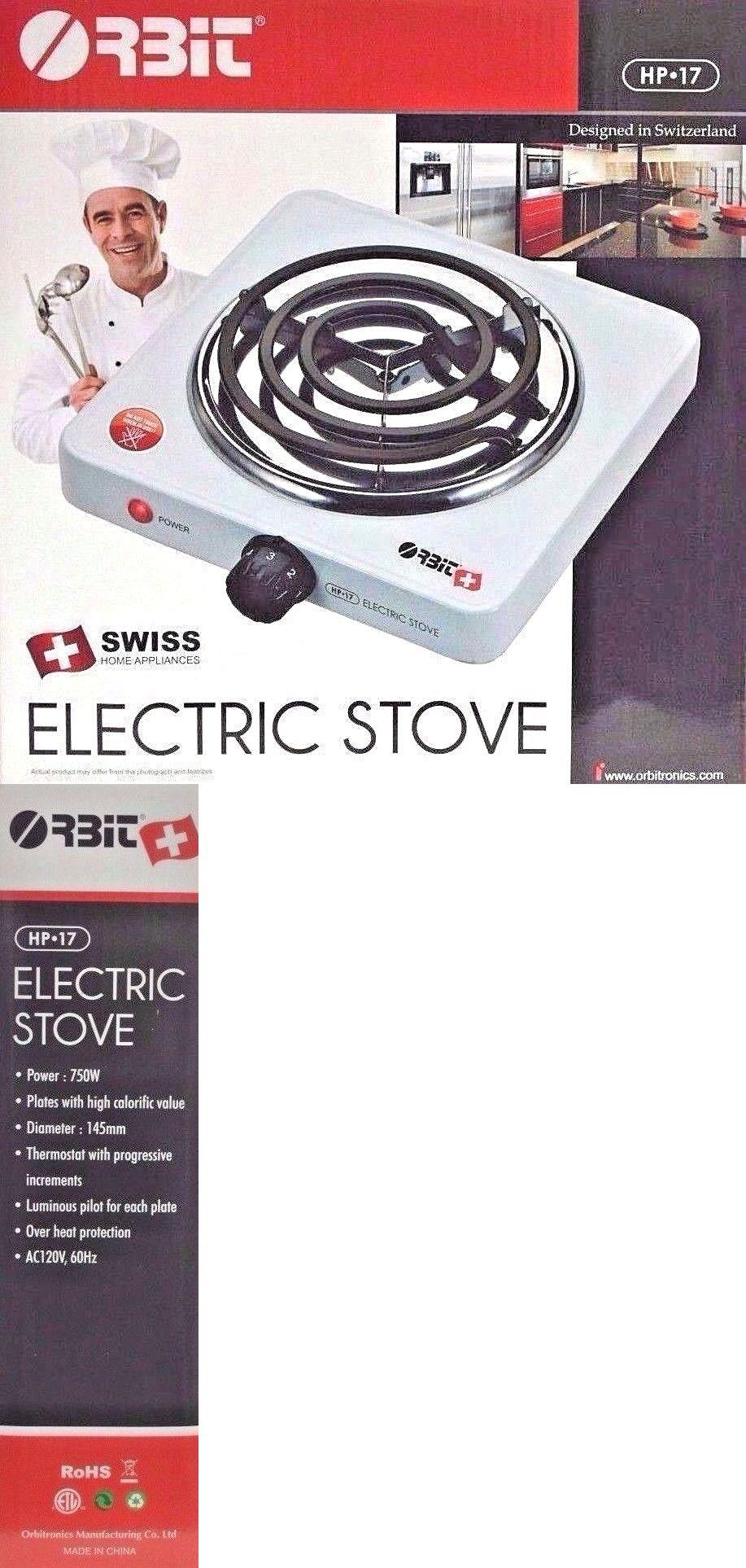 Orbit Electric Stove Single Burner Hot Plate Countertop Warmer Kitchen Wholesale