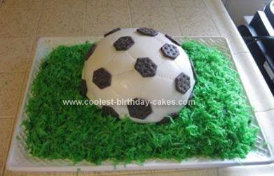 Coolest Homemade Soccer Ball Birthday Cake 42 Soccer Birthday Cakes Ball Birthday Soccer Birthday
