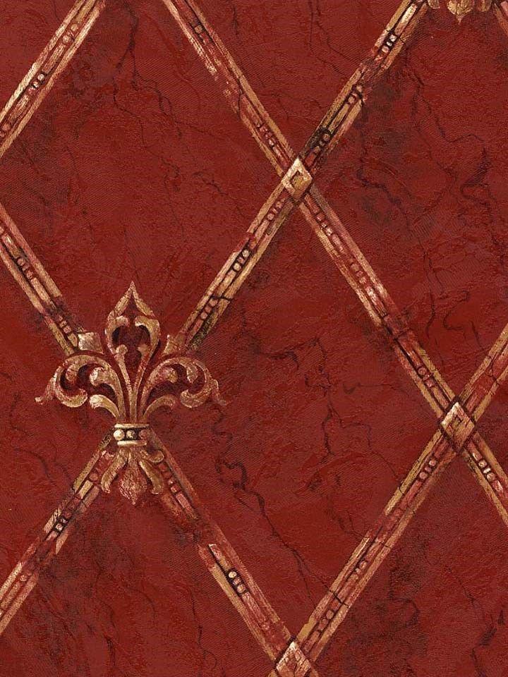 Well Woven Timeless Fleur De Lis Red Formal Area Rug 710 X