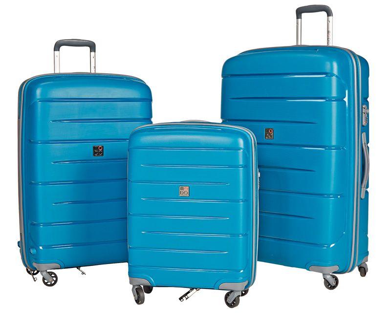 Roncato Starlight -matkalaukut, 70/80/90 €. Kestävää ja kevyttä italialaista designia, 4 pyörää. Kolme kokoa: 55 cm (lento), 71 cm, 79 cm. Värit: musta, petroli, tummansininen. 2 vuoden takuu. Norm. 129/149/165 €. NT-Bags, 2. KRS