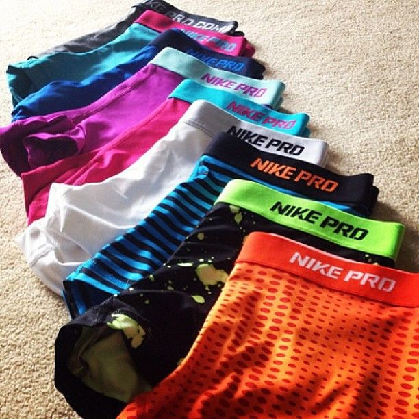 Nike Pro Shorts, someone please buy me these for my birthday?!