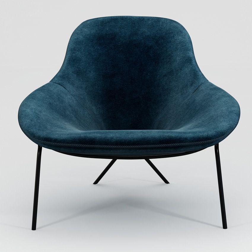 Cross leg lounge chair lounge chair armchair furniture