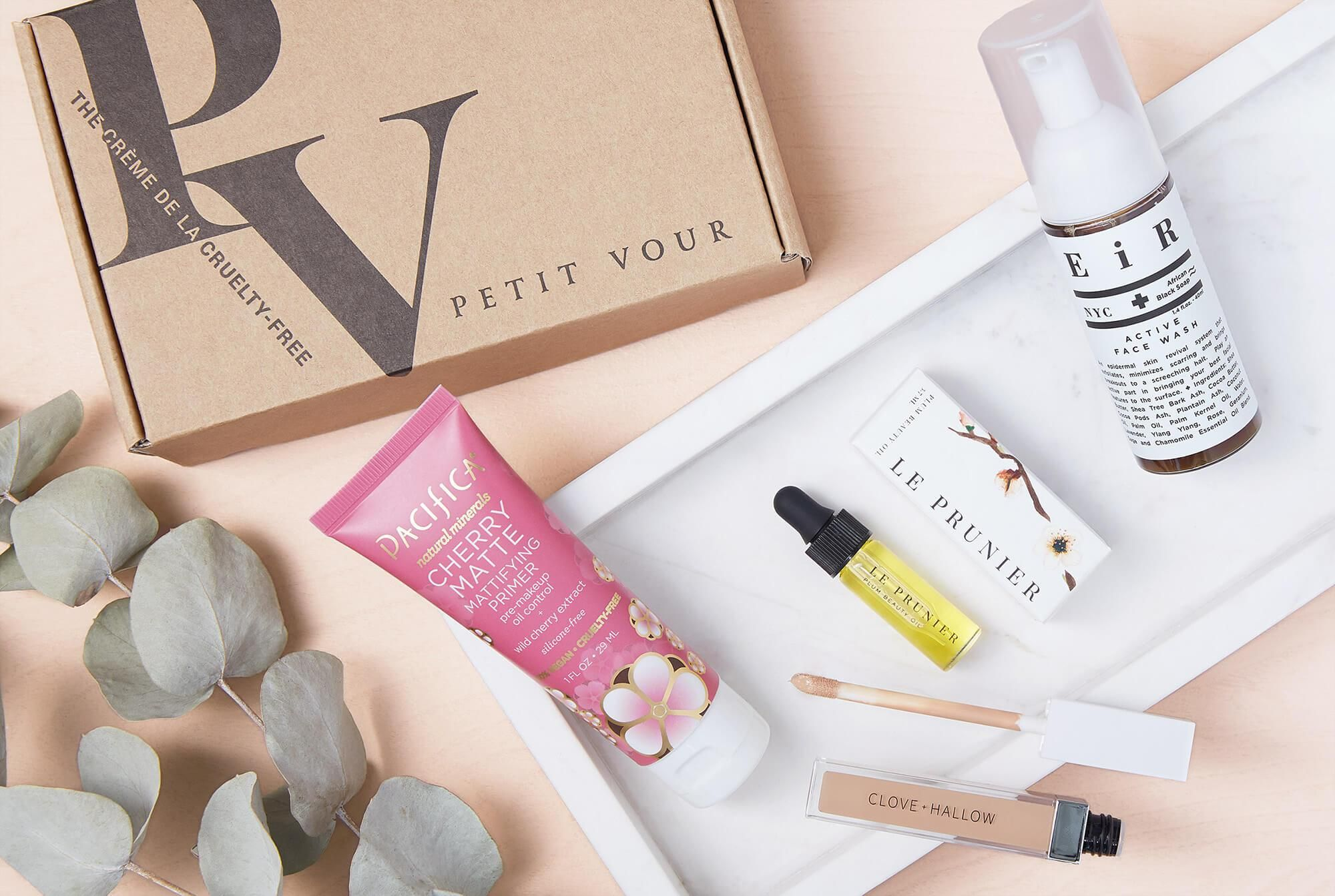 subscription to Petit Vour's luxurycurated, crueltyfree
