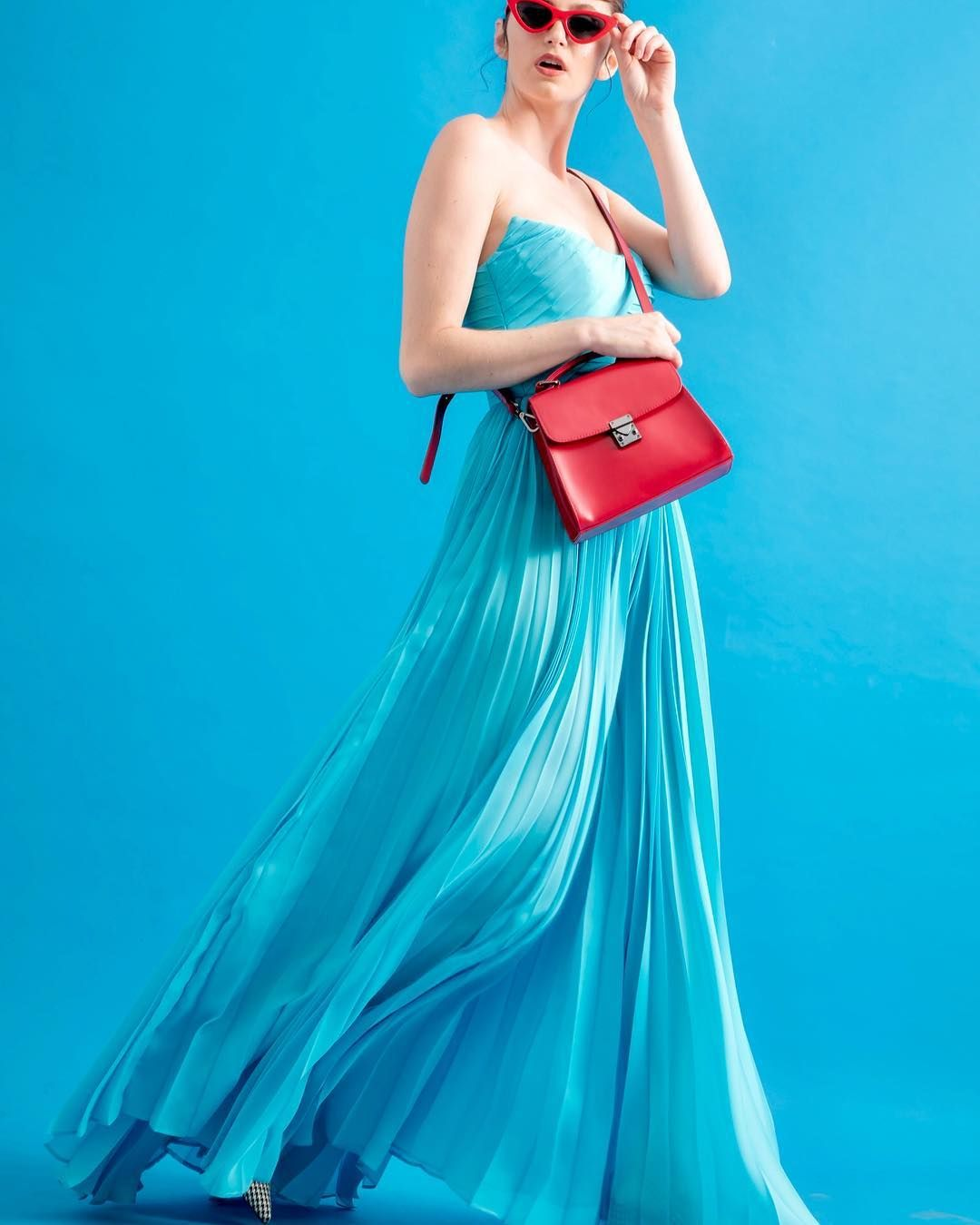 The Pleated Prom Dress Easy Yet Bold Inspired By The 80s Craze For