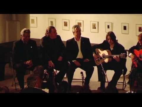 Mario Garrido canta fandangos de Huelva en Amsterdam  -fandangos de  CALAÑA