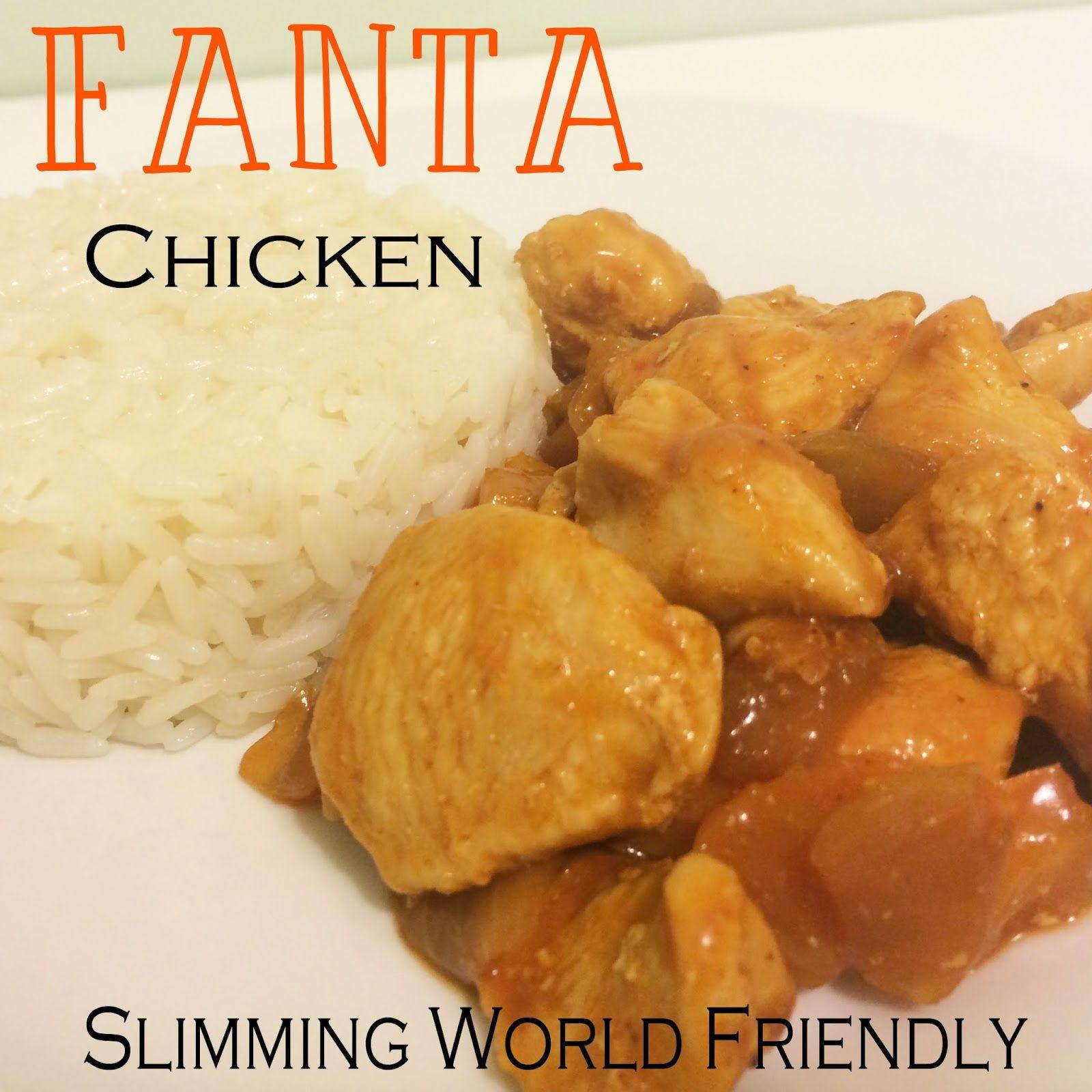 Slimming World Syn Free Dinner Meal Idea Fanta Chicken