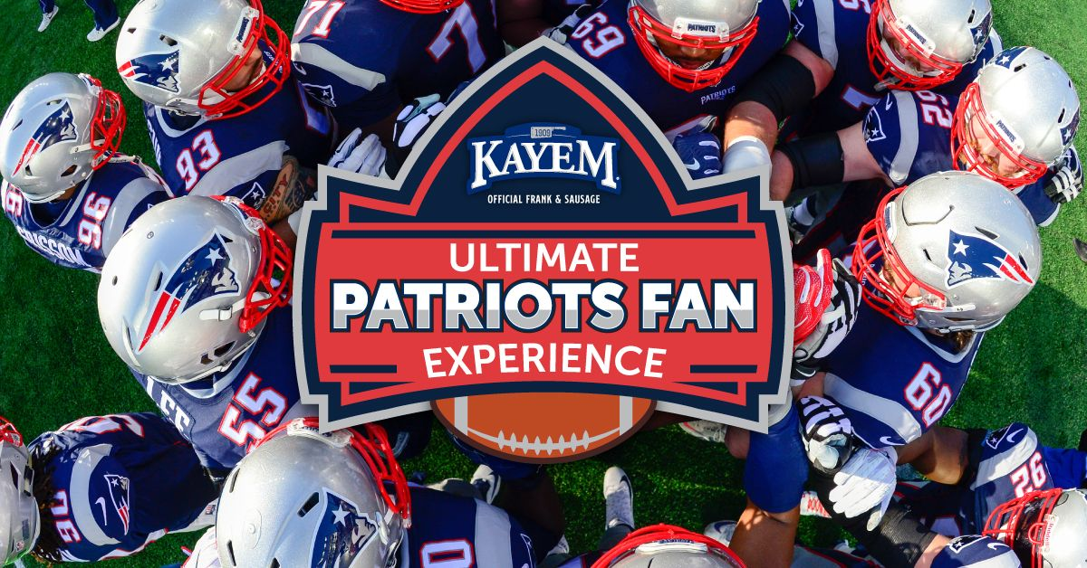 Enter to win VIP New England Patriots tickets and more by