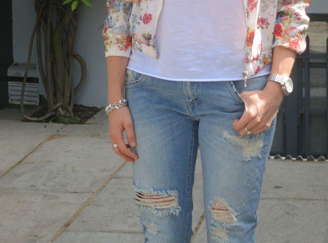 Summer '13 Trend – Floral Bomber Jacket OOTD