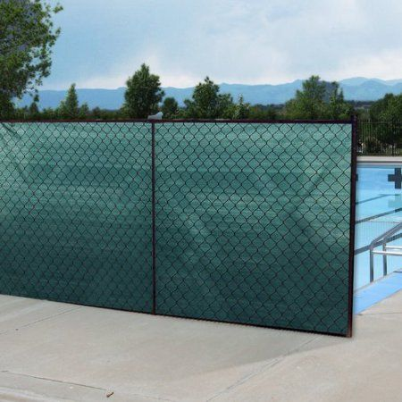 Boen Privacy Fence Netting Black 68 X 150 Privacy Fence Screen