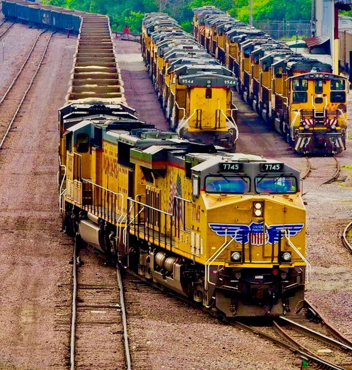 Pin by Paulie on Everything Trains Union pacific