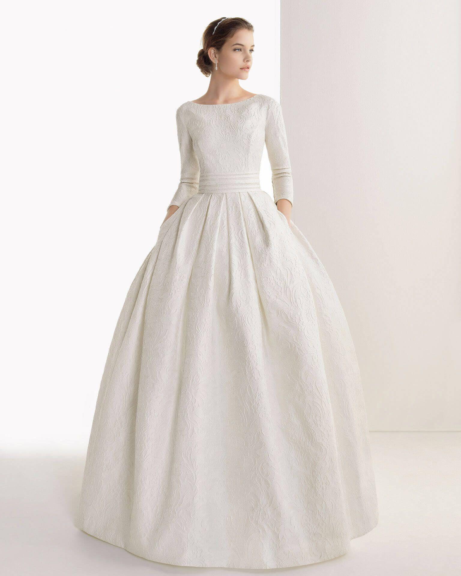 Фото модных свадебных платьев с рукавами 2016 [modnaya24 ...