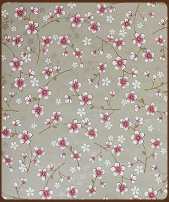 Klein Design Hoorn - Behang - Pip Studio 2 - Pip behang Cherry Blossom khaki 313022
