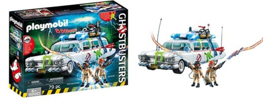 Amazon Playmobil Ghostbusters Ecto 1 Only 24 95 Shipped