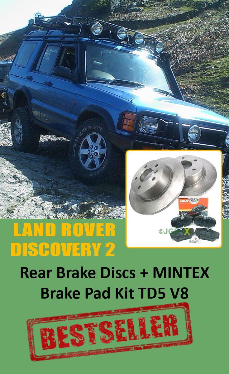 Land Rover Discovery 2 Td5 /& V8 Mintex Branded Rear Brake Pads SFP500130M