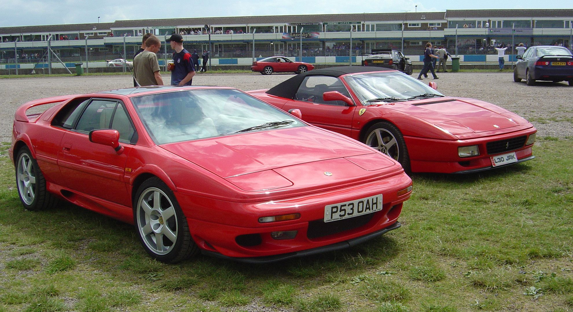 Lotus Esprit V8 & Ferrari 348GT Competizione with friends in background [1920x1080] Need #iPhone #6S #Plus #Wallpaper/ #Background for #IPhone6SPlus? Follow iPhone 6S Plus 3Wallpapers/ #Backgrounds Must to Have http://ift.tt/1SfrOMr