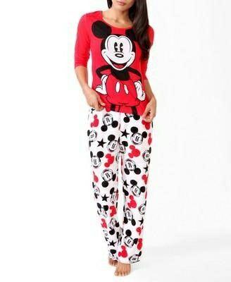 1c5f515795c1 Mickey Mouse PJs | Pijamas | Pijamas lindas, Pantalones cortos de ...