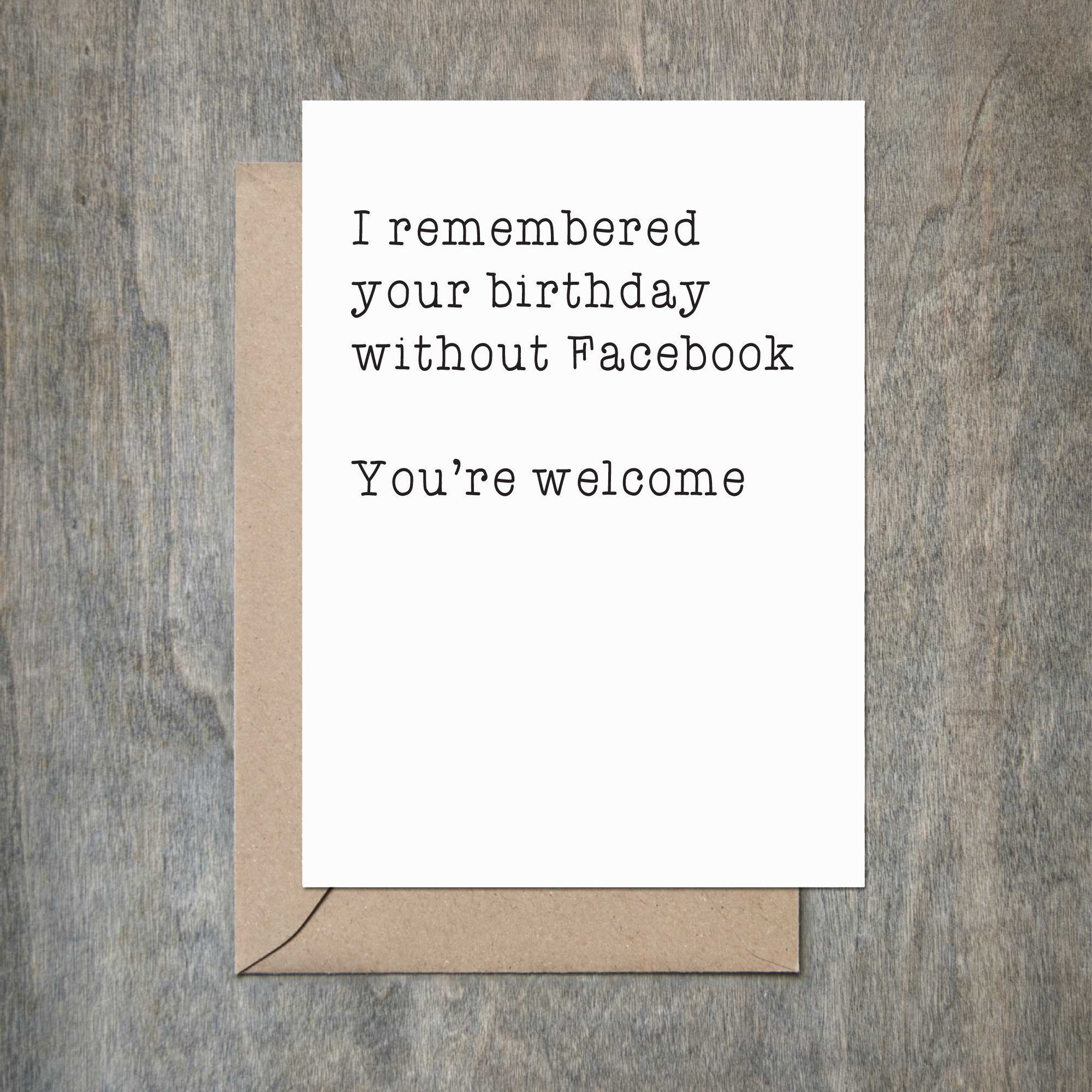 Remembered birthday without facebook birthday card birthdays remembered birthday without facebook birthday card bookmarktalkfo Images