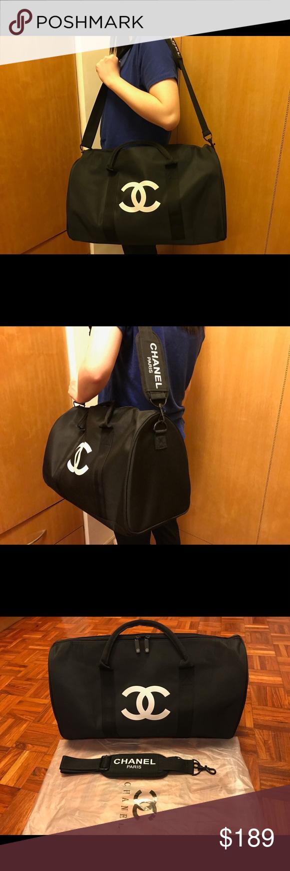 98d10b59c4e2 Chanel VIP gift bag cross body bag travel bag Authentic 2017 Chanel VIP  gift bag cross