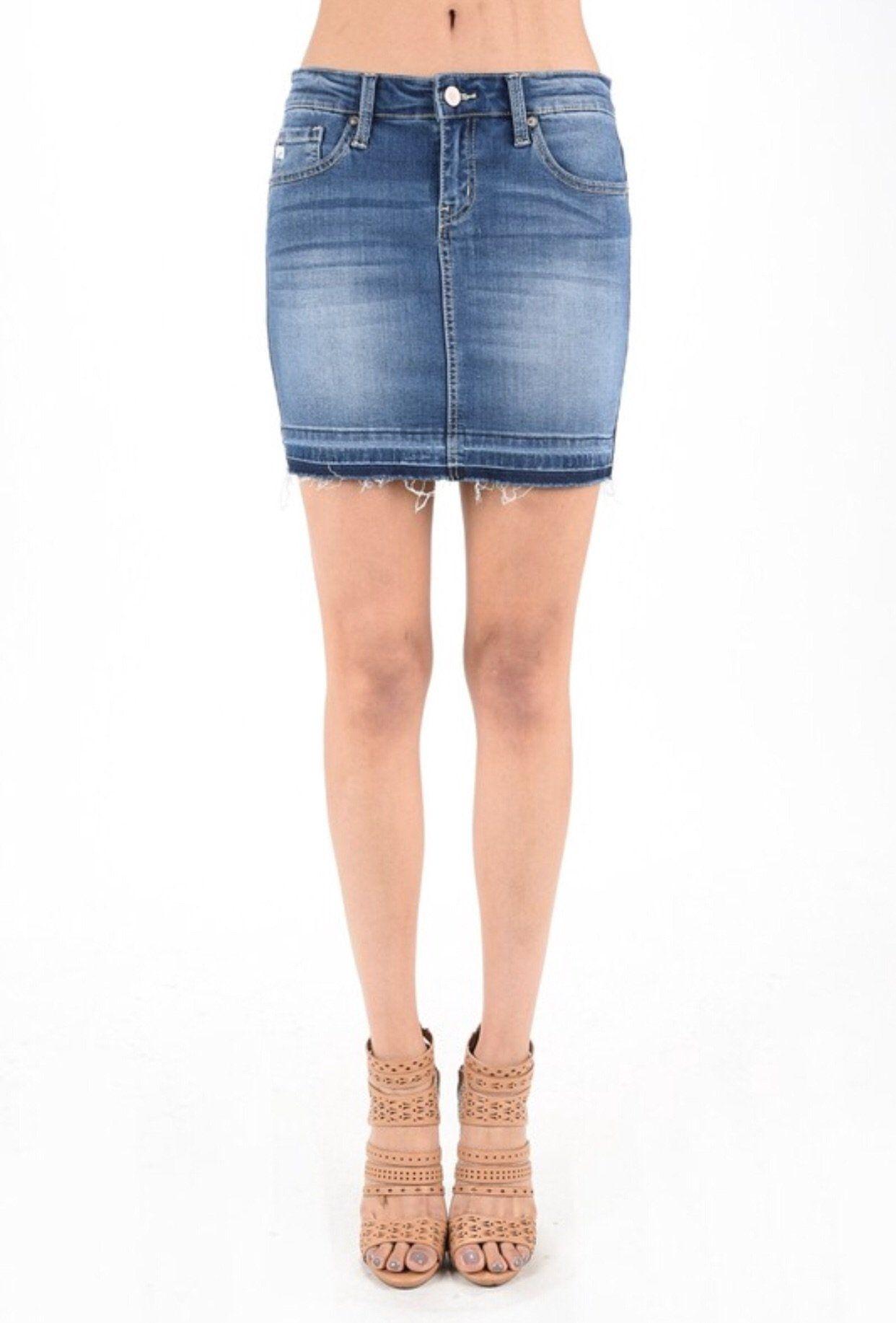 7483db56f633 Best denim skirt - kancan