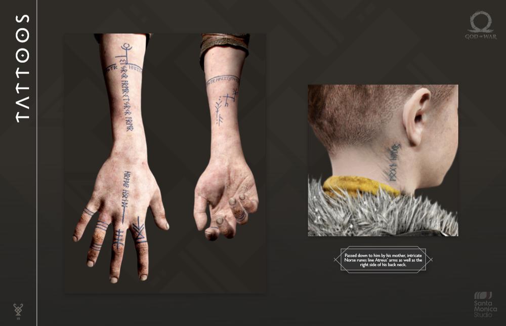 Atreus | God of War | God of War, War tattoo, Norse tattoo