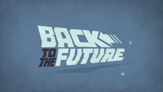 Back To The Future Title Sequence Back To The Future Title Sequence Motion Design Animation