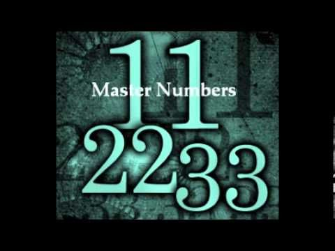 Meaning Of Numbers Youtube I Am Master Number 22 Pinterest