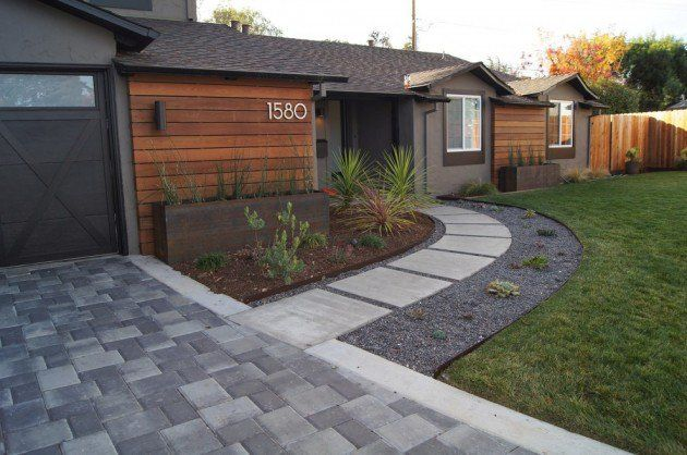 16 Captivating Modern Landscape Designs For A Modern Backyard ...