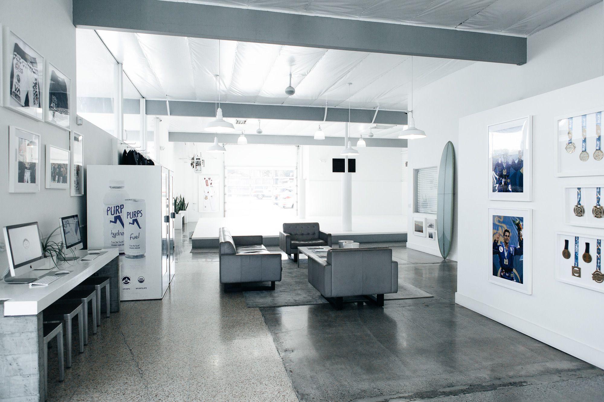 Art of jiu jitsu facility gym design interior gym