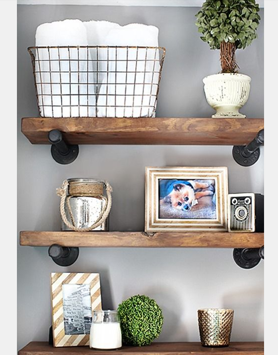 Decorative Metal Wall Shelves 15 unique wall shelf decor ideas | unique wall shelf decor ideas
