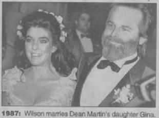 carl wilson and gina martin relationship problems