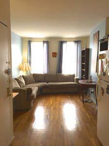 Airbnbで見つけた素敵な宿: ニューヨークのComfiest Couch in Manhattan!!