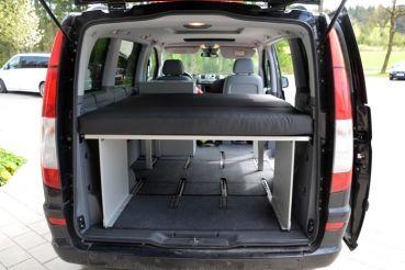 schlafsystem van vito car mercedes camper camping. Black Bedroom Furniture Sets. Home Design Ideas