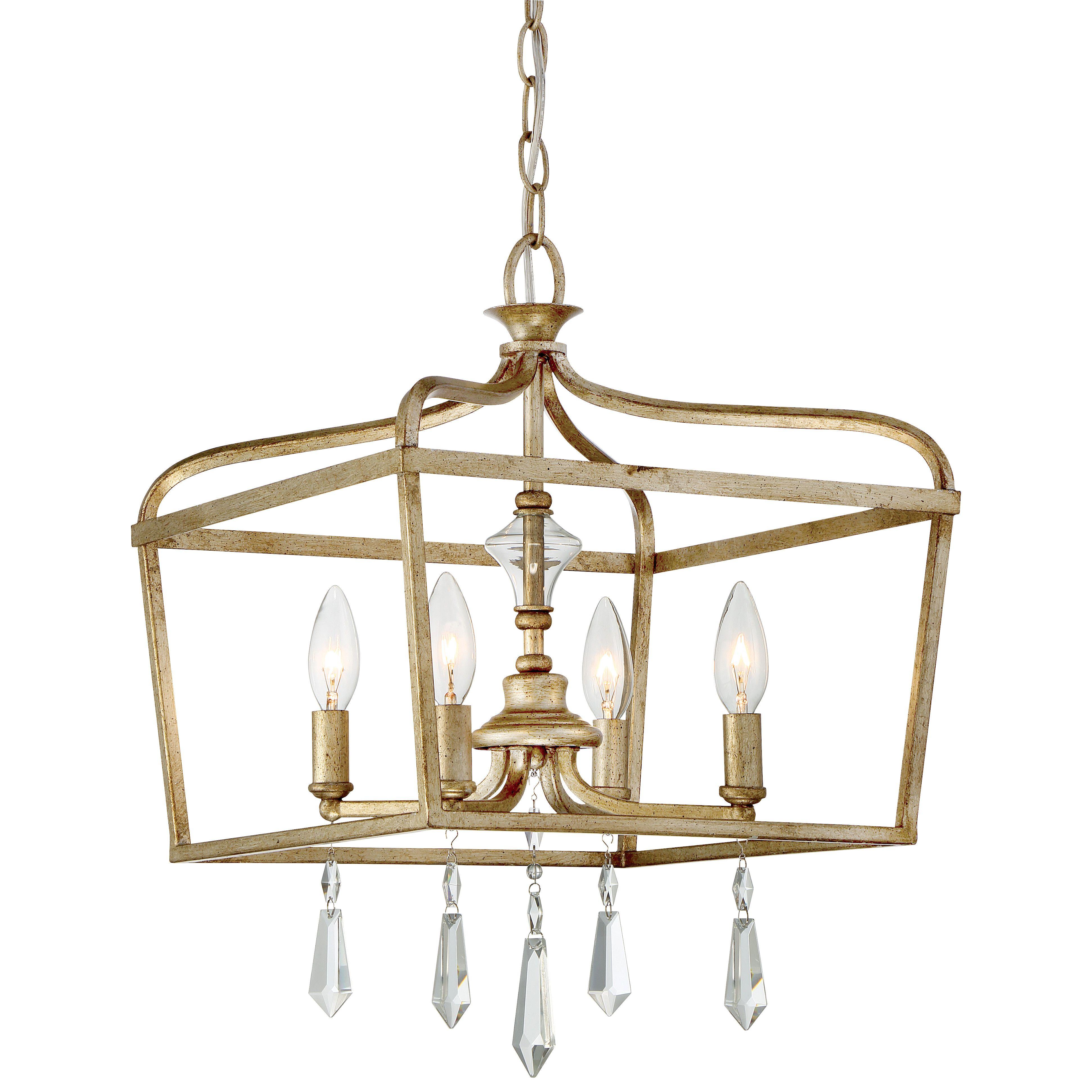 Minka Lavery Laurel Estate 4 Light Candle Chandelier