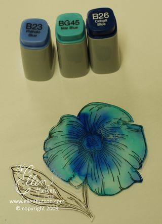 Alcohol Ink Painting Technique using Various Ink Refills