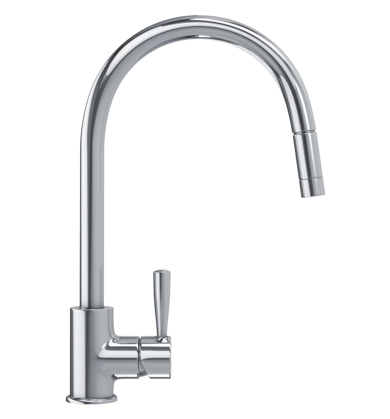 185 Franke Fuji Pull Out Nozzle Kitchen Sink Mixer Tap Chrome