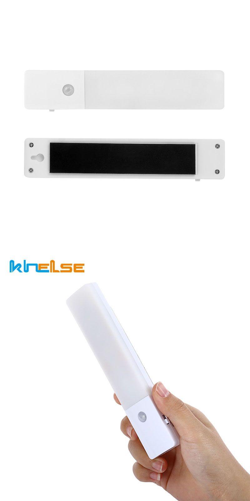 Led night light motion sensor lights rechargeable wall light for ir