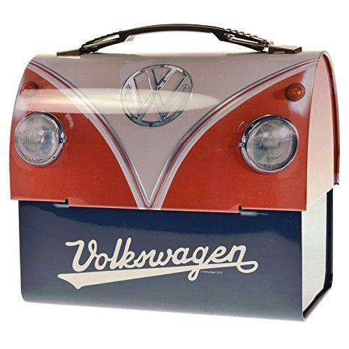 volkswagen t1 bus brotdose aus metall vw bulli lunchbox vesperbox bulli brotbox aus metall. Black Bedroom Furniture Sets. Home Design Ideas