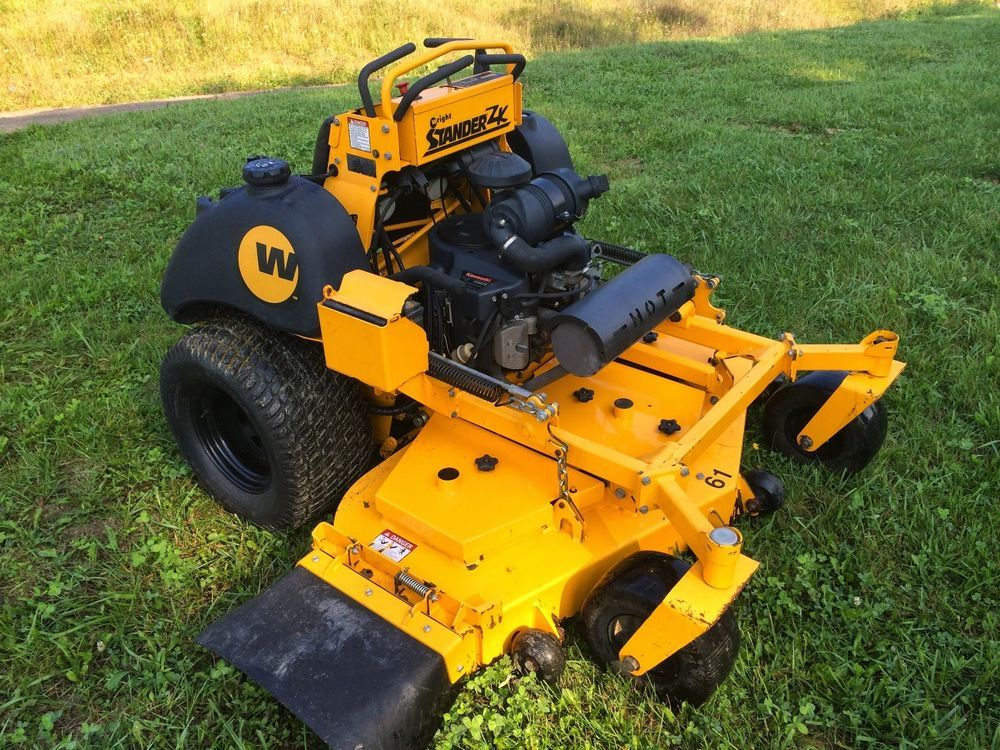 2012 Wright 61 Inch Zk Stander Commercial Zero Turn Rider