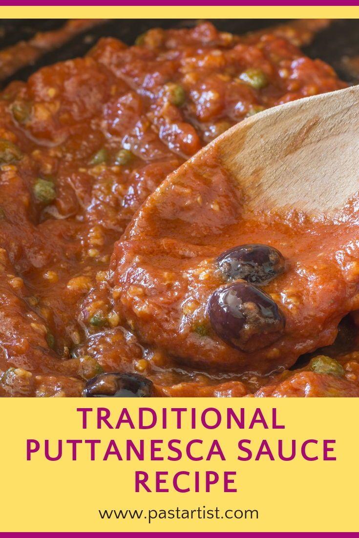 pasta alla puttanesca – The Pasta Artist