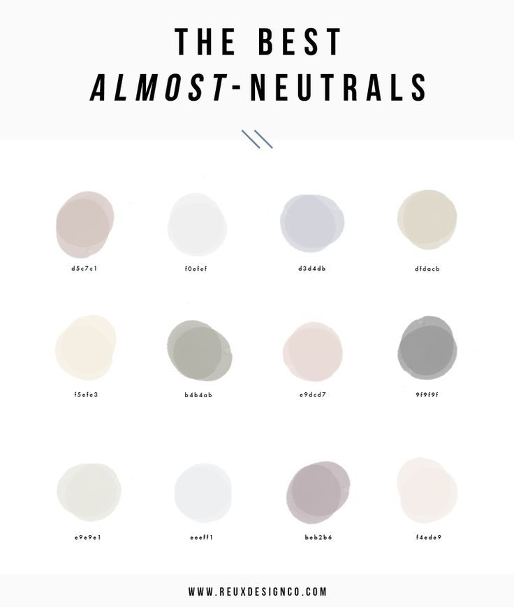 Accented Neutral Color Scheme Bedroom: Best Neutral Colors For Branding