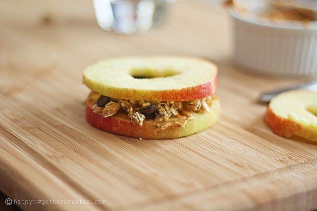 Apfelsandwich
