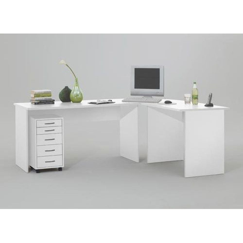 99 Large White Corner Desk Used Home Office Furniture Check