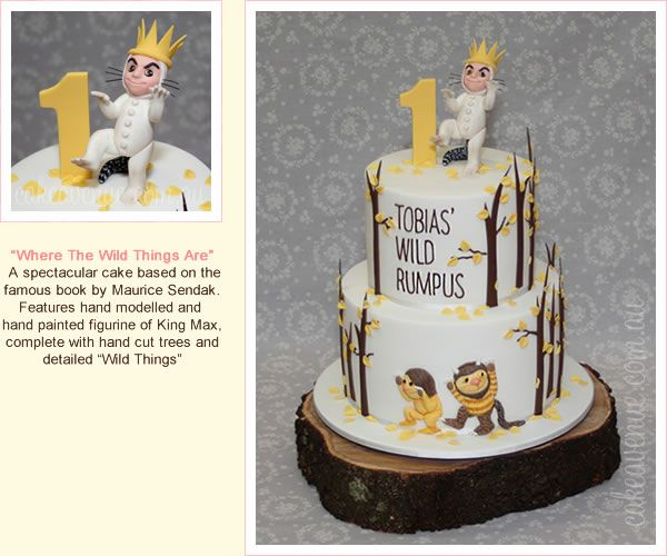 Birthday Gift Idea Sydney: Where The Wild Things Are Birthday Cake