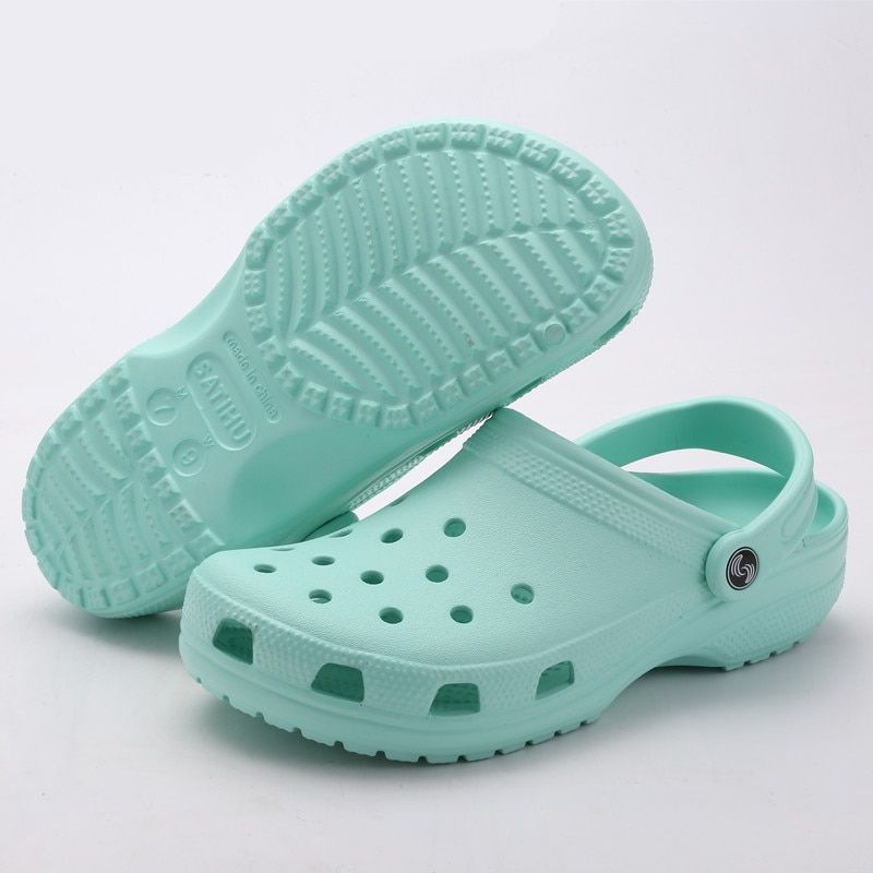 Men/'s Summer Breathable Beach Pool Sandals Casual Plastic Slippers Flat Mules
