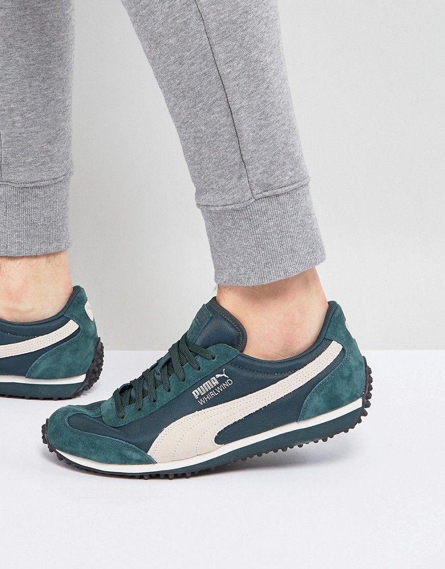 ba8526cf26efb Puma Whirlwind Winterized Sneakers In Green 36378803 - Green ...