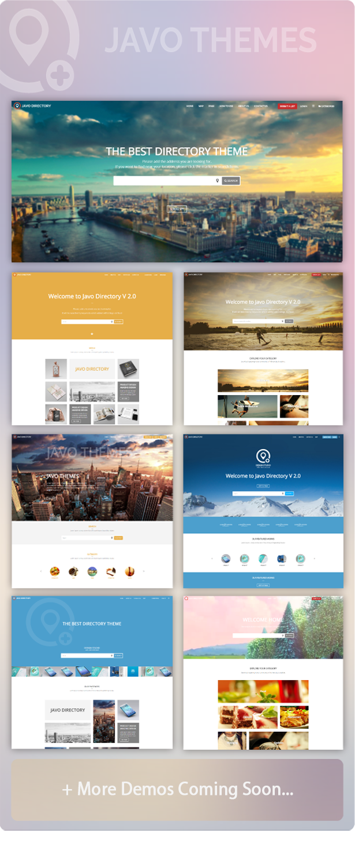 Javo Directory Wordpress Theme Event Directory Bootstrap