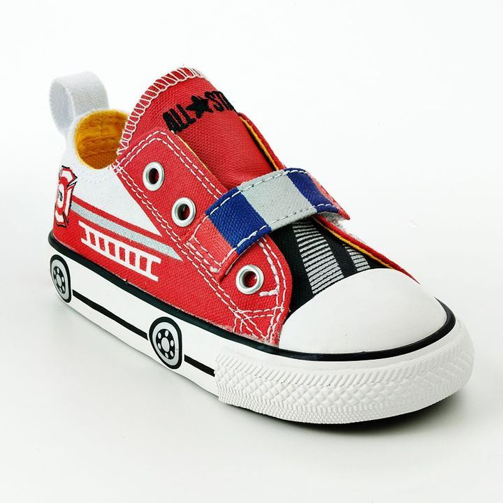 9d53027060 Converse chuck taylor all star fire engine shoes - toddlers   thestylecure.com!! i want these for Nathaniel