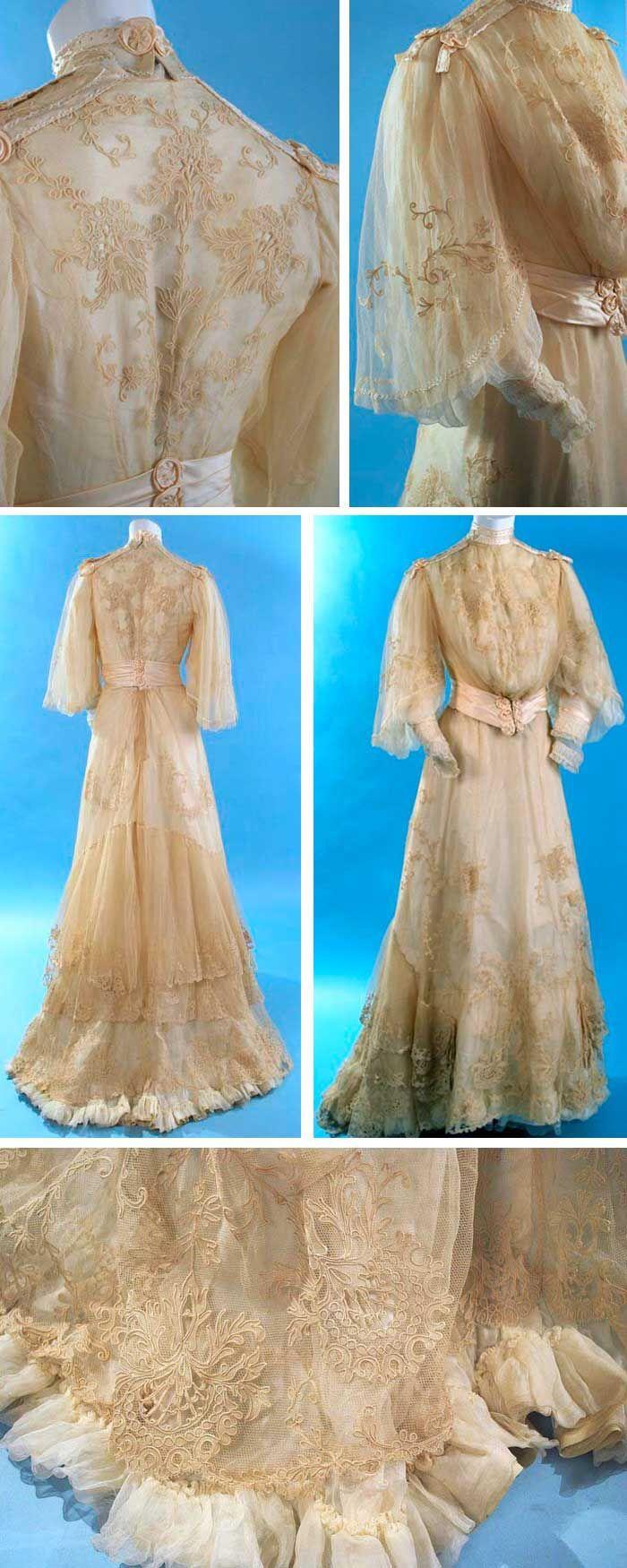 Eras of elegance fashion history pinterest antique lace