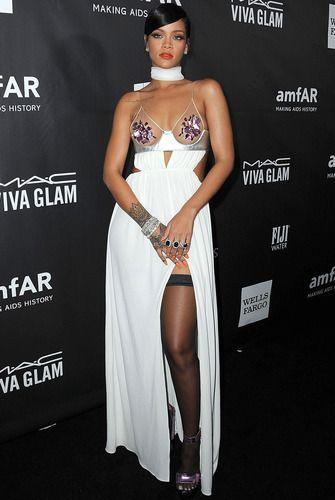 e0982e778eab Rihanna at the amfAR LA Inspiration Gala on October 29
